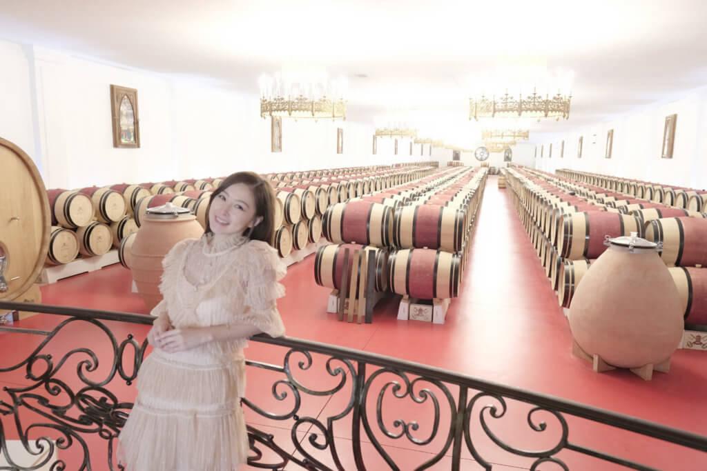 樂瞳每年會安排一個悠長的旅行,順道參觀當地酒莊。