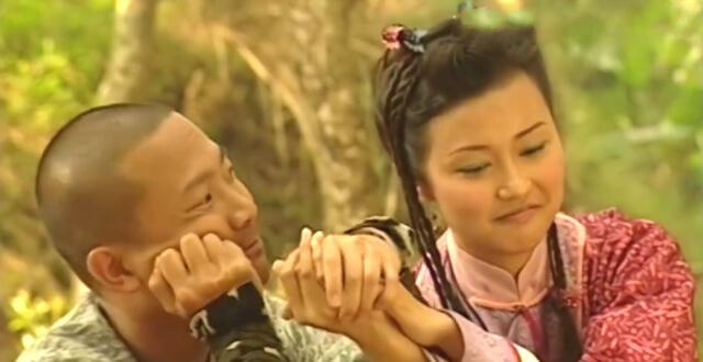 陳國邦和羅敏莊在《雲海玉弓緣》演情侶,戲假情真擦出愛火。