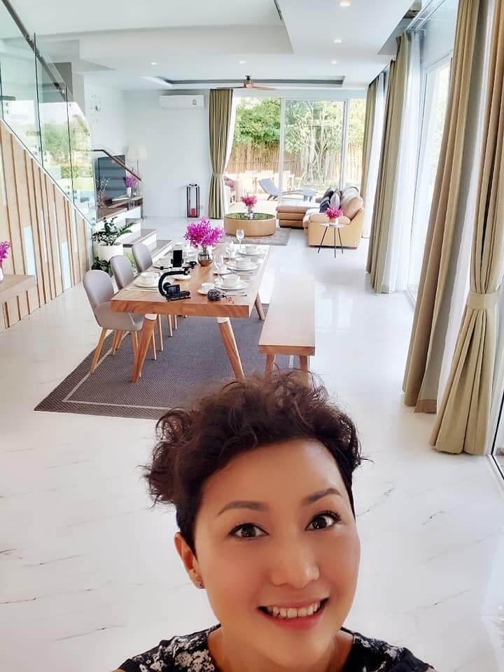 羅敏莊在曼谷到處參觀物業及組織睇樓團