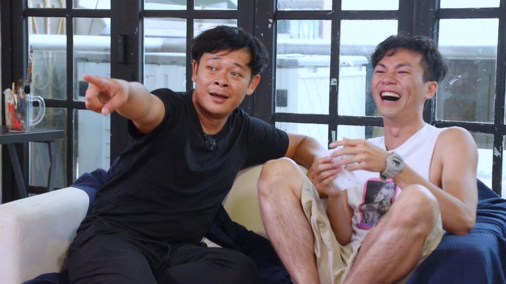 林子傑在朋友眼中是個「開心果」,估不到在節目中落淚。
