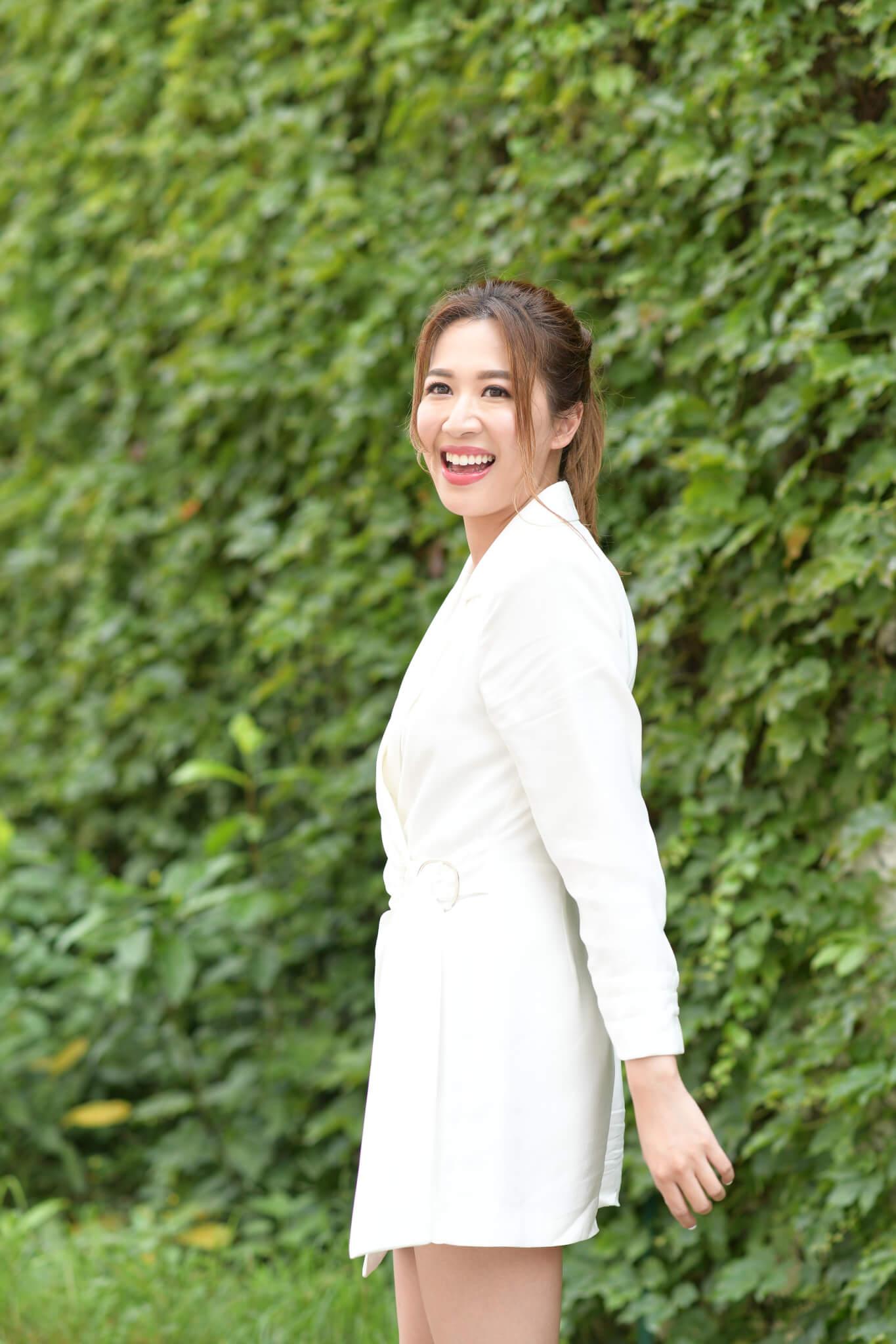 岑杏賢去年底於朋友婚禮上認識Kelvin,兩人一拍即合。
