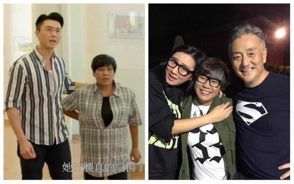 李麗霞與王浩信拍《解決師》,與吳岱融拍《牛下女高音》合作愉快。