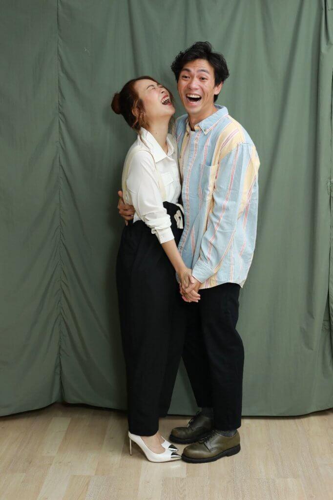 林子傑性格風趣幽默,經常逗得女友哈哈大笑。