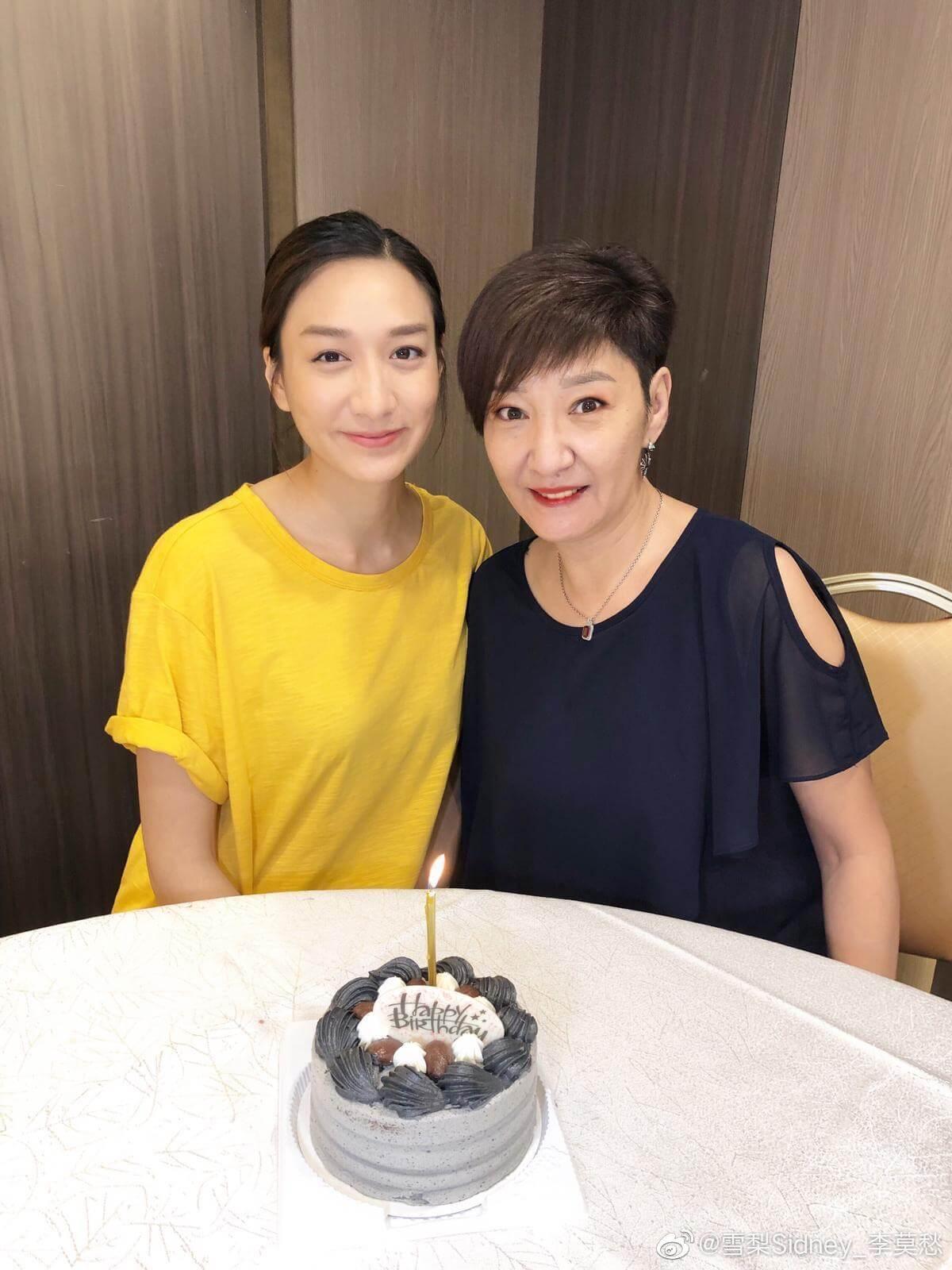 徐頴堃與媽媽雪梨