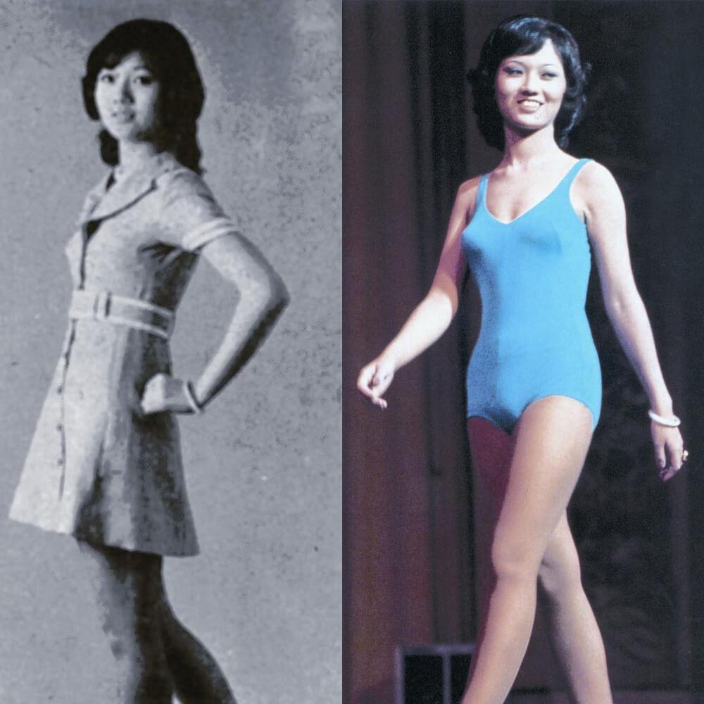趙雅芝於1973參選港姐,獲得第四季。