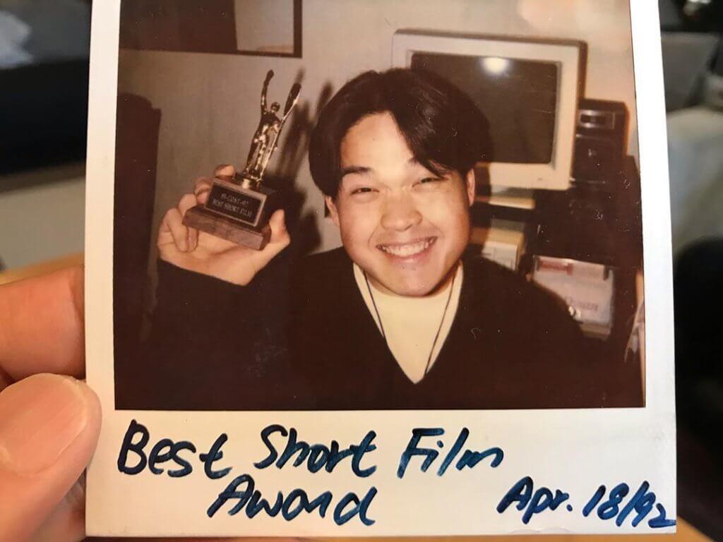 鄭啟泰在大學時期已開始拍微電影,他的畢業作更獲得Best Short Film Award。
