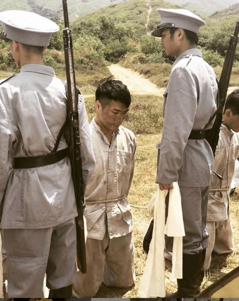林景程在《福爾摩師奶》飾演乞兒陳,拍這個劇不慎弄傷腳趾公。