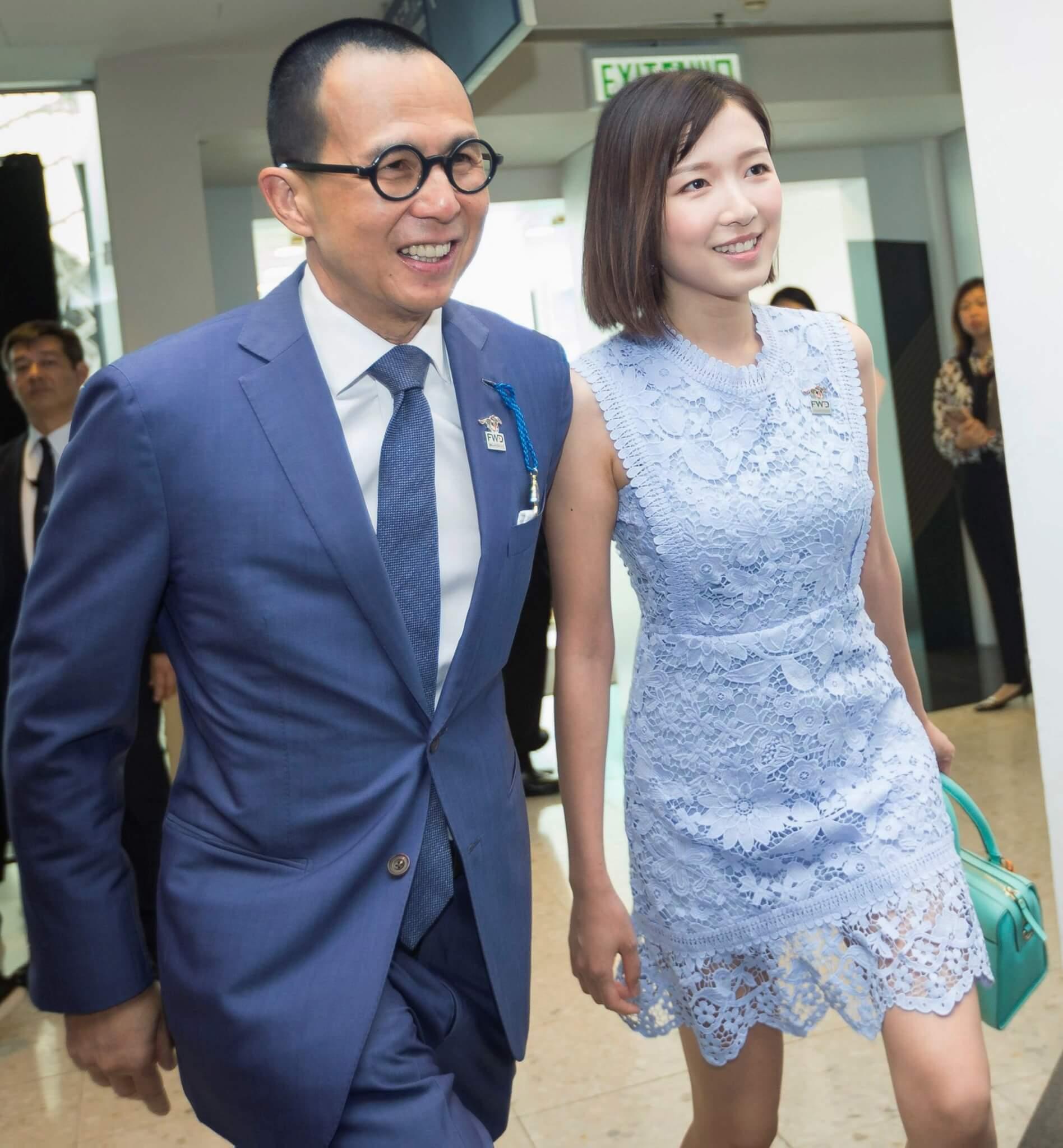 2019年,郭嘉文與李澤楷出席沙田馬場的賽馬日活動,罕有拍拖現身,成為全場焦點。