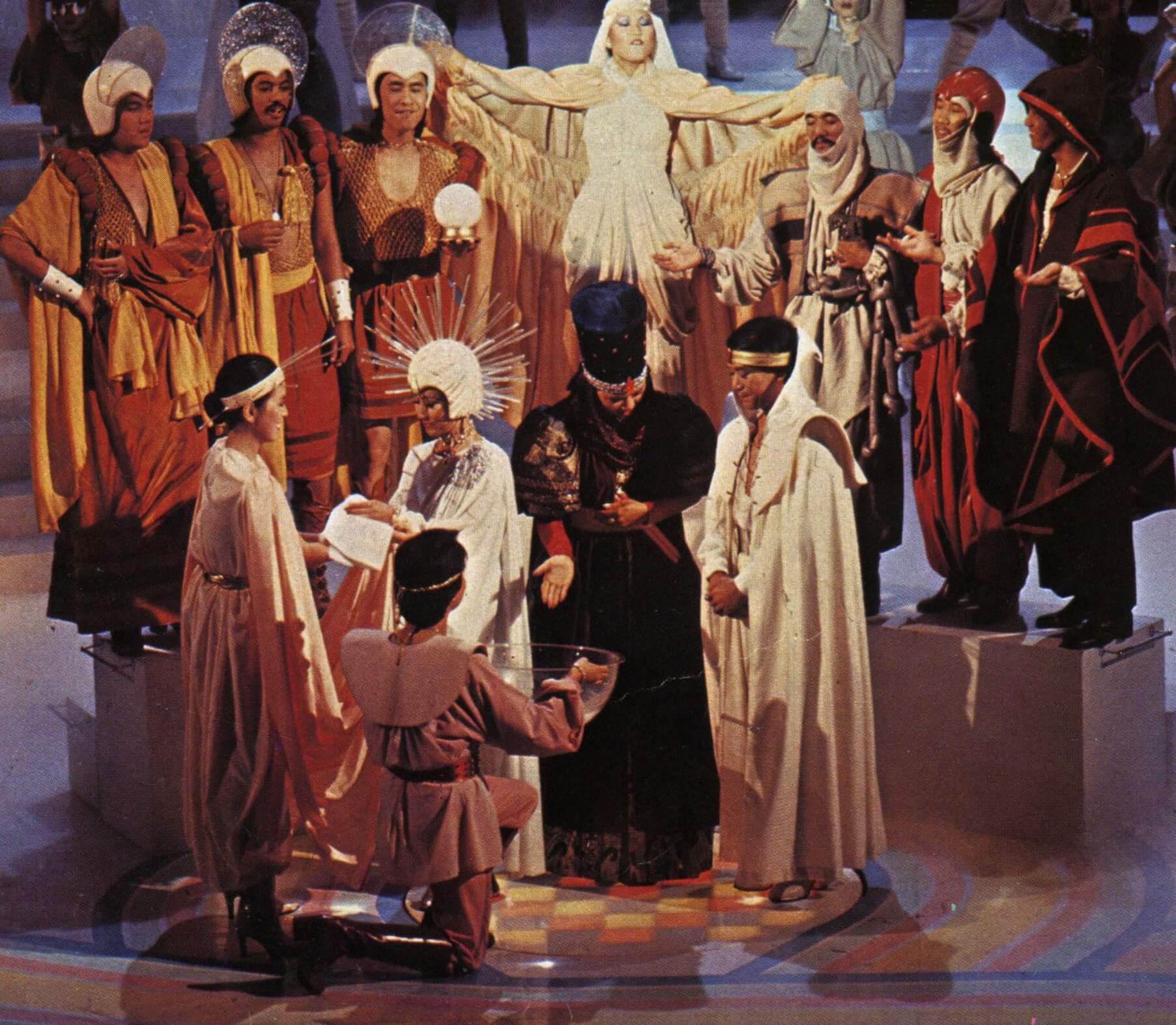 1978年葉麗儀、汪明荃、羅文、陳美玲、陳潔靈、葉振棠、繆騫人、賈思樂