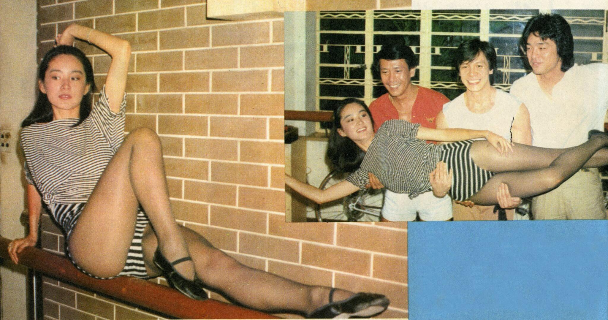 青霞曾表示喜歡各種新嘗試,即使穿着泳衣演出也沒有問題;她穿着健康舞衣與三位拍檔綵排,其實只要脱去上衣,便與泳衣沒有兩樣了。