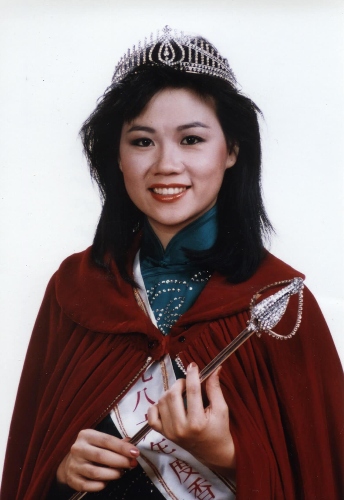 1986年香港小姐選舉 冠軍 李美珊 PR相