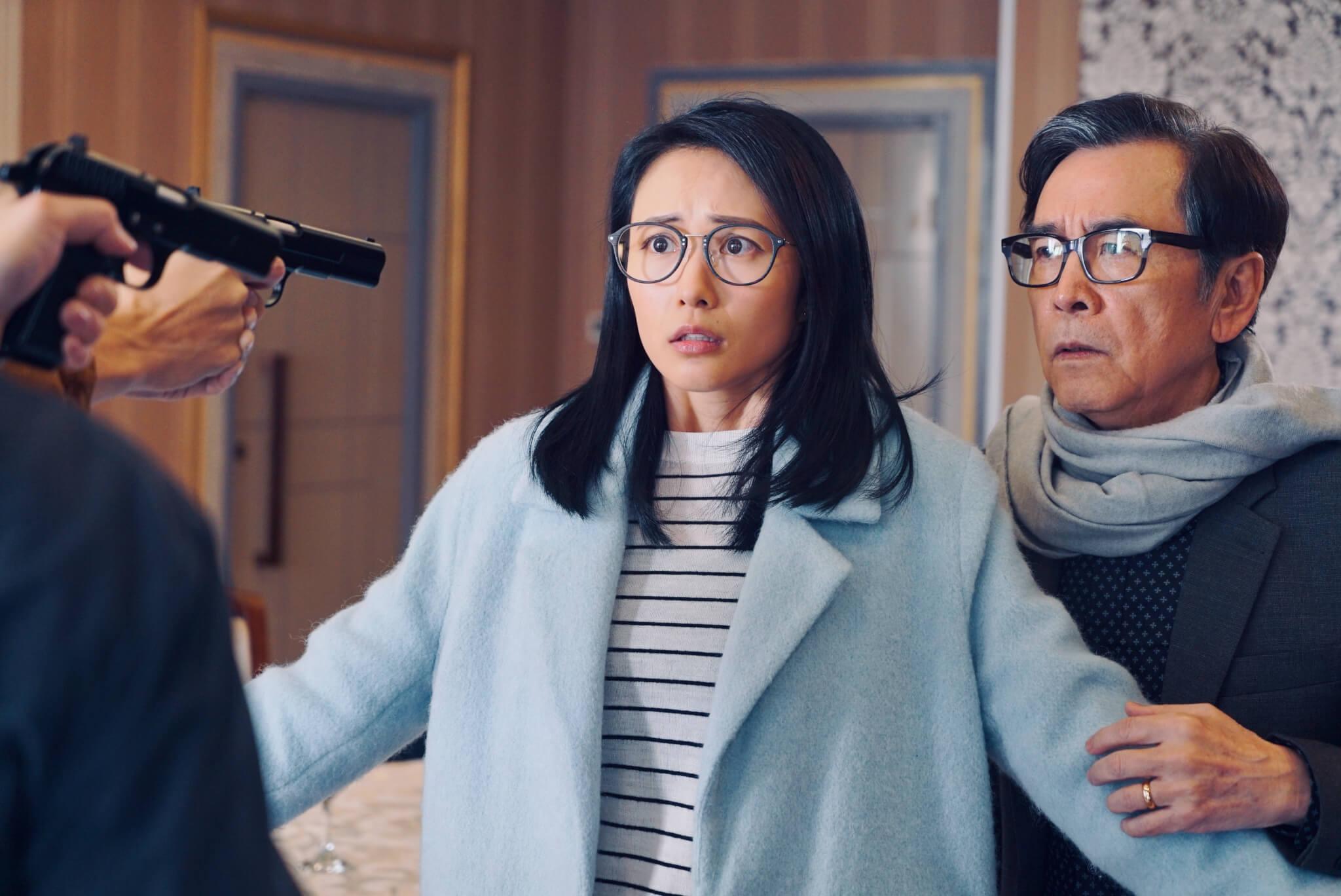 湯怡於無綫劇集《反黑路人甲》飾演姜大衞女兒,角色討好。