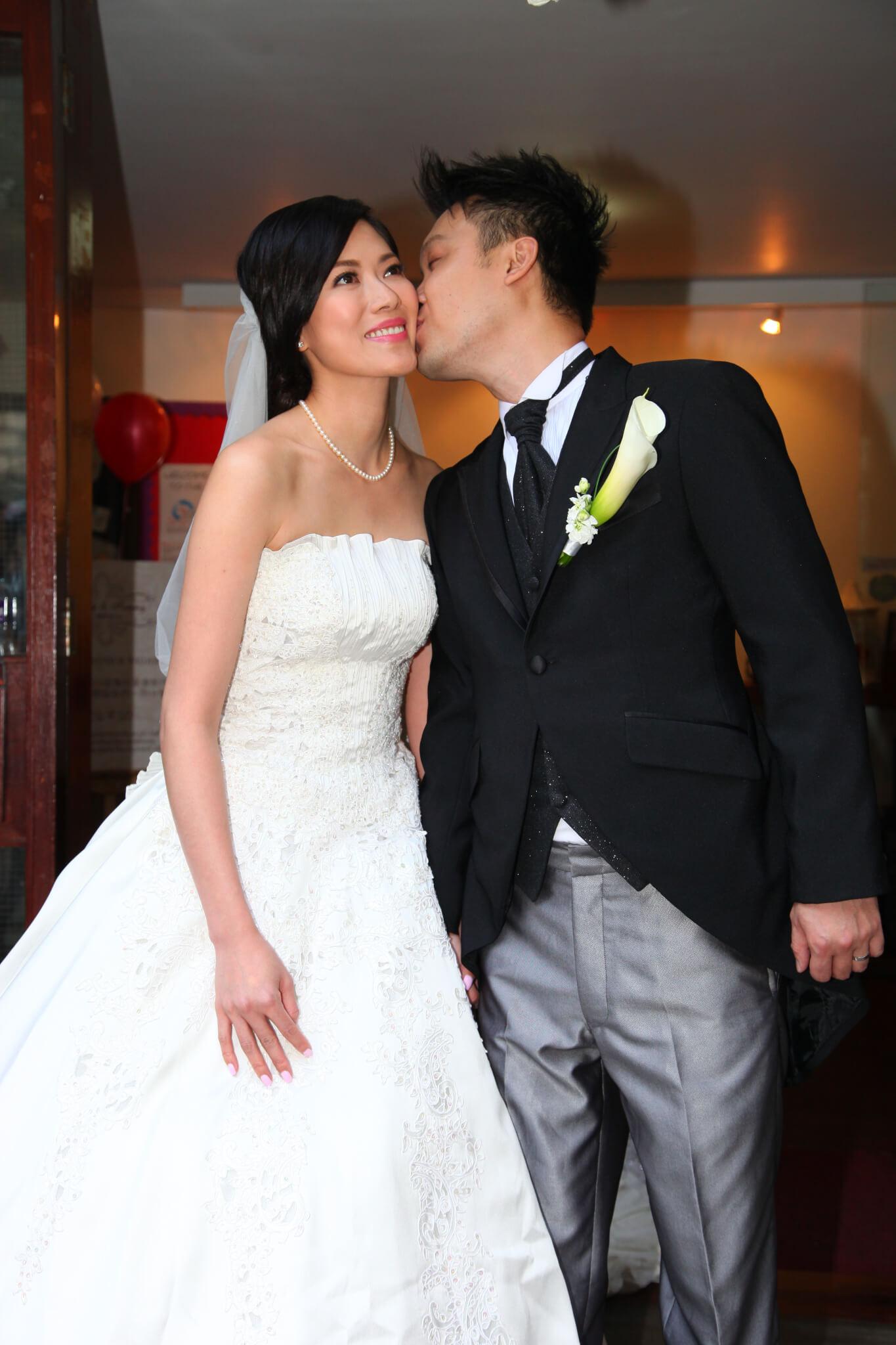 2013年2月24日,林淑敏與商人陳中原結婚。