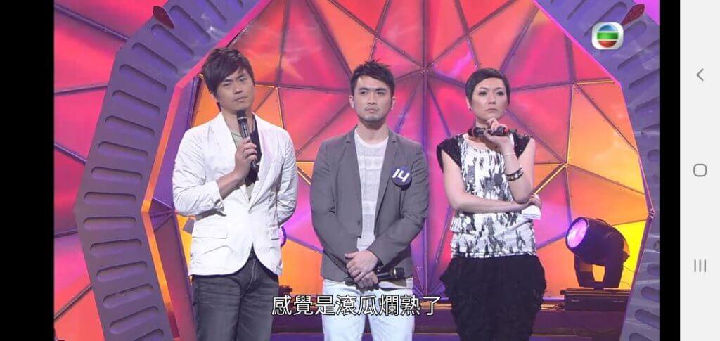陳國峰說參加《巨聲2》比賽很大壓力,中段瘦了二十磅。