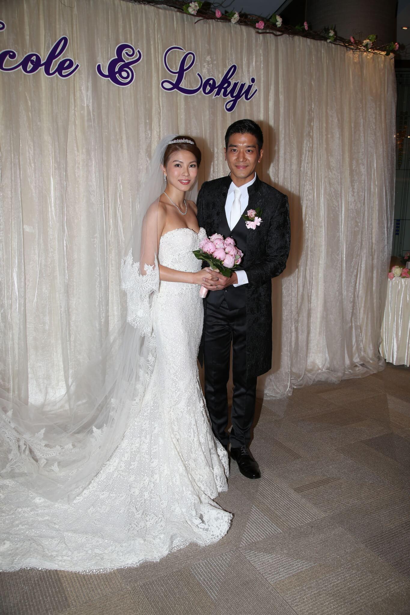 李潔瑩與黎諾懿於2014年11月11日結婚。