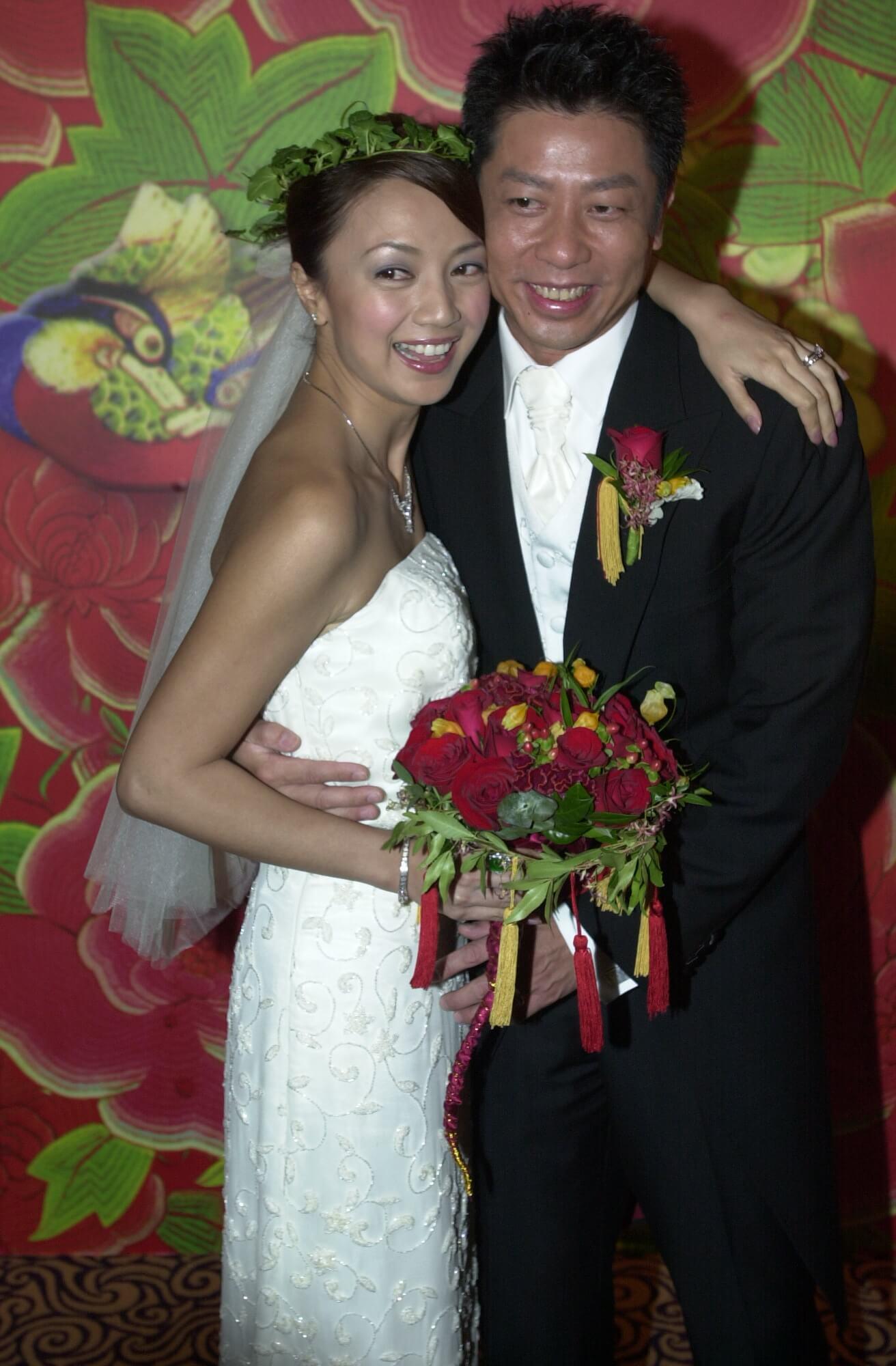 楊婉儀與王瑞勳於2003年4月結婚。