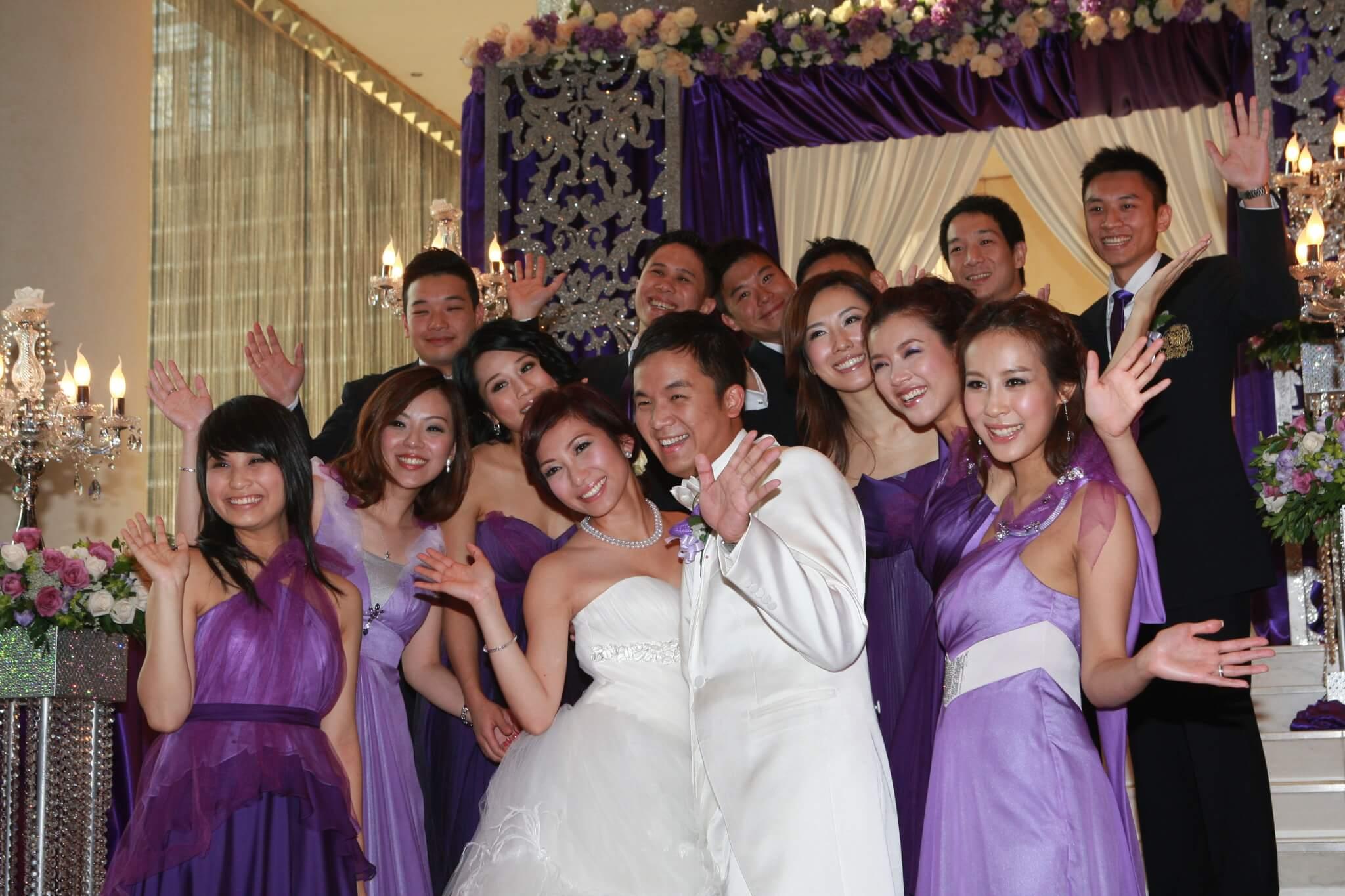 朱凱婷於2010年9月與拍拖5年的飛機師男友Dickens結婚。