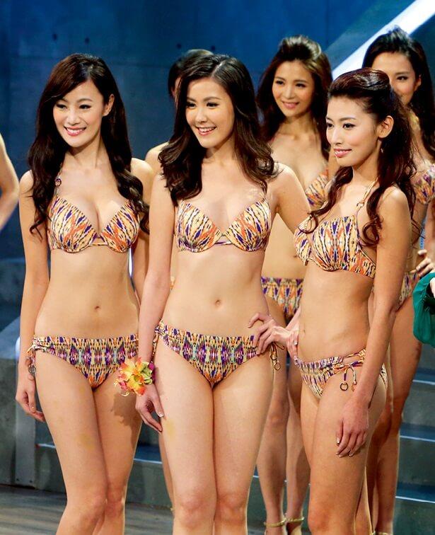 (左起)2013年朱智賢、劉佩玥、林思韻