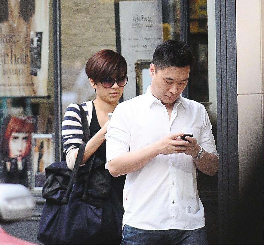 黃智雯與任職珠寶集團高層的圈外男友拍拖七年,感情事向來低調。