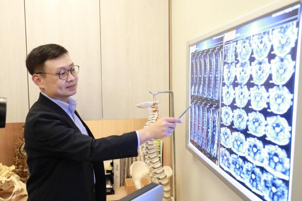 辛醫生指椎間盤突出未必會引致坐骨神經痛