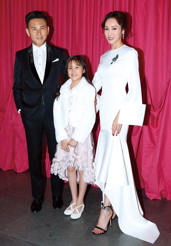 與林文龍、女兒林天若