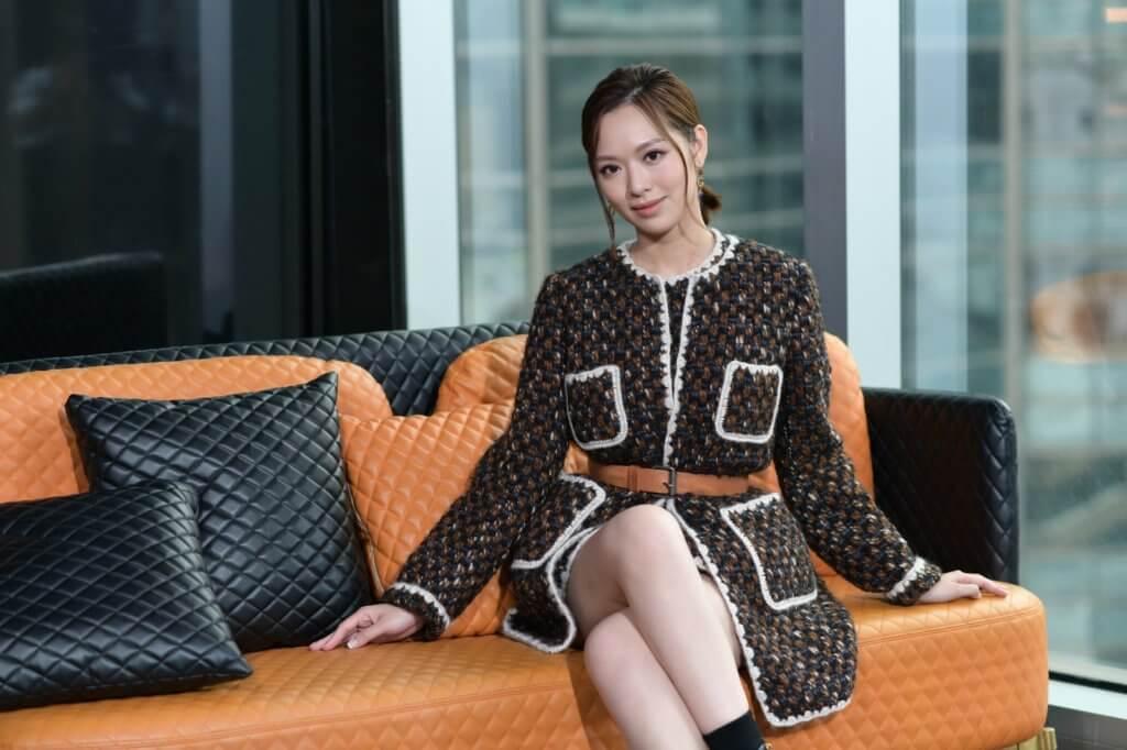馮盈盈是近年無綫力捧的花旦,出道短短日子便在劇中擔正演出。