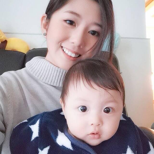 陳嘉慧喜歡小朋友,經常都會幫家姊照顧姨甥。