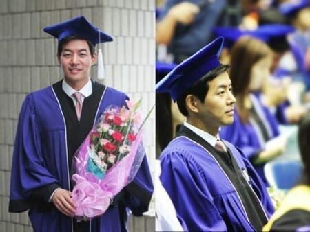 李相侖雖然因服役及演藝活動而休學,但仍堅持學業,輾轉十多年後成功畢業。