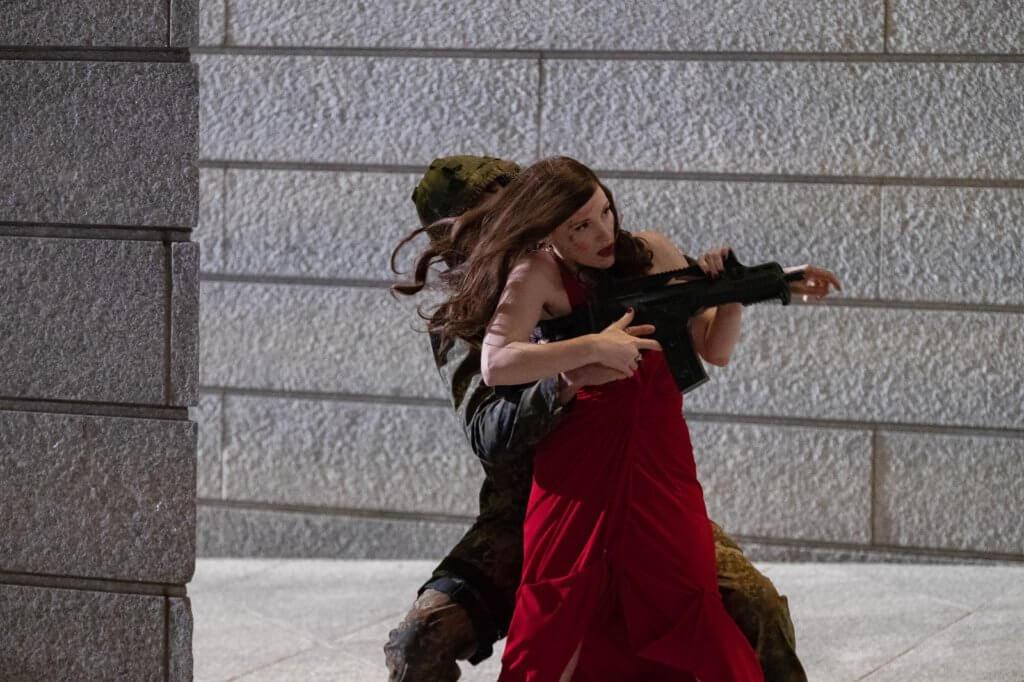 謝茜嘉謝西婷在《頭號殺姬Ava》中飾演睇得又打得的頂尖女殺手