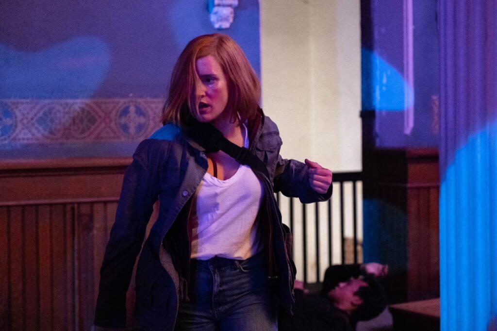 片中部分超高難度動作由謝茜嘉親身演出