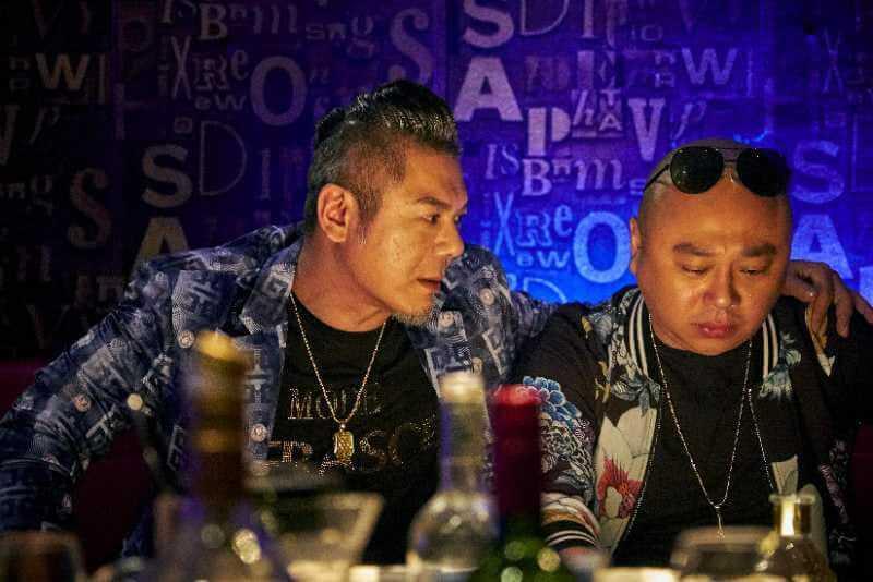 彭皓鋒在網劇《戰毒》飾演大反派,跟阿Bob有段兄弟情,角色大受網民歡迎。