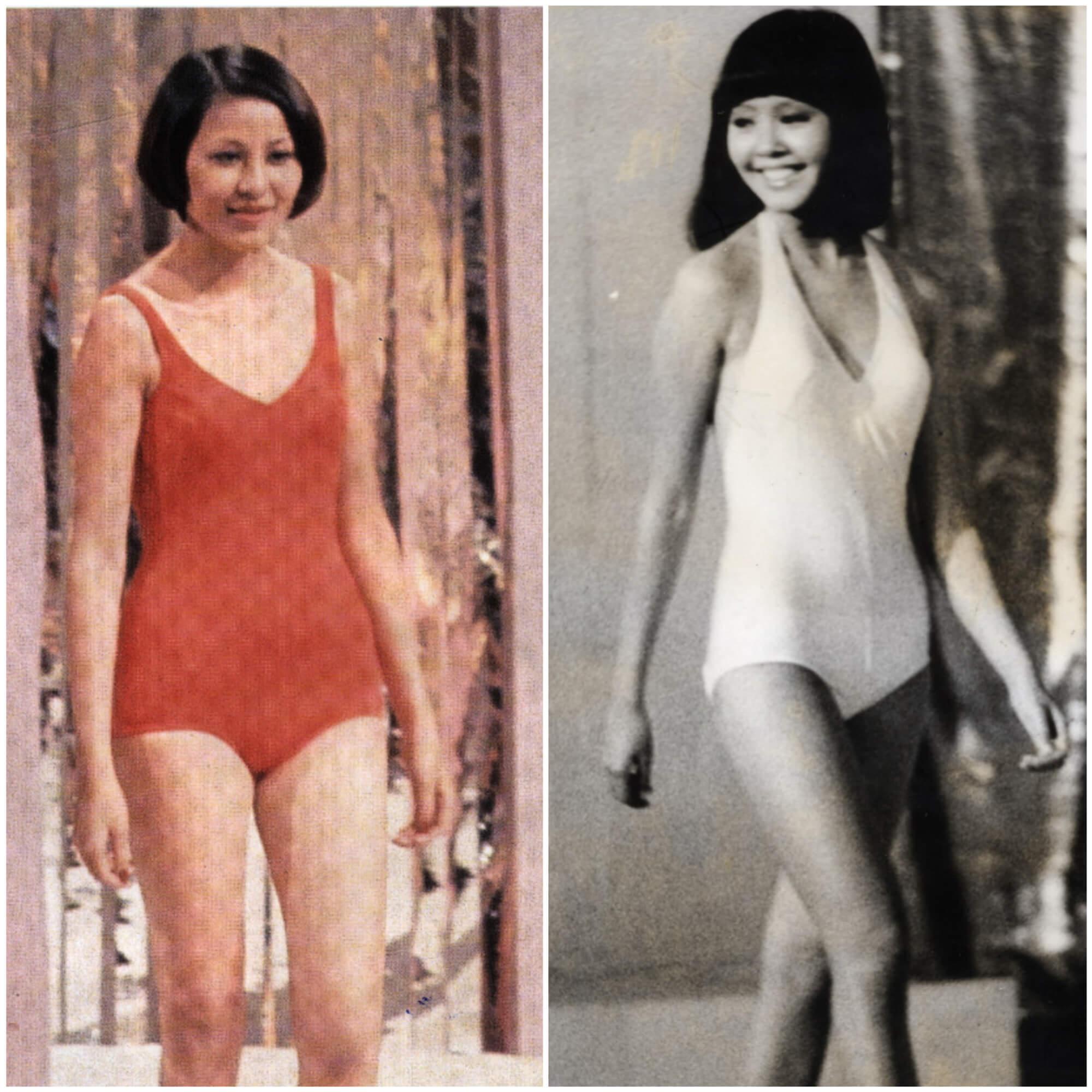 (左起)1974年張文瑛、1976年林良蕙