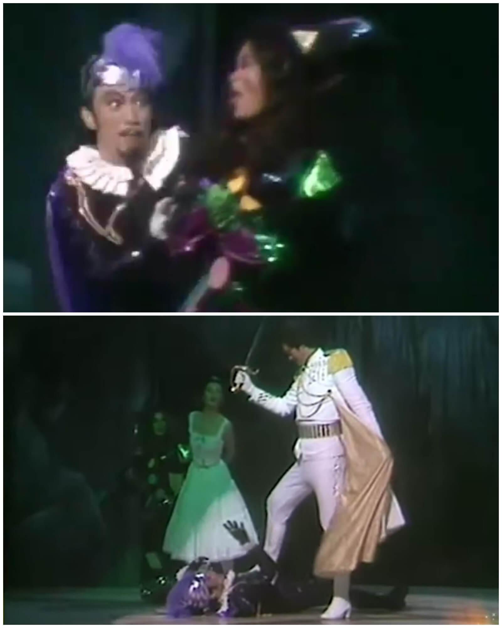 由Philip頂替羅文演出,負責填詞的黃霑也把其中一句歌詞「話我眨眼夾姿勢多」改為「面似匹馬兼手多」,同樣是度身訂造。