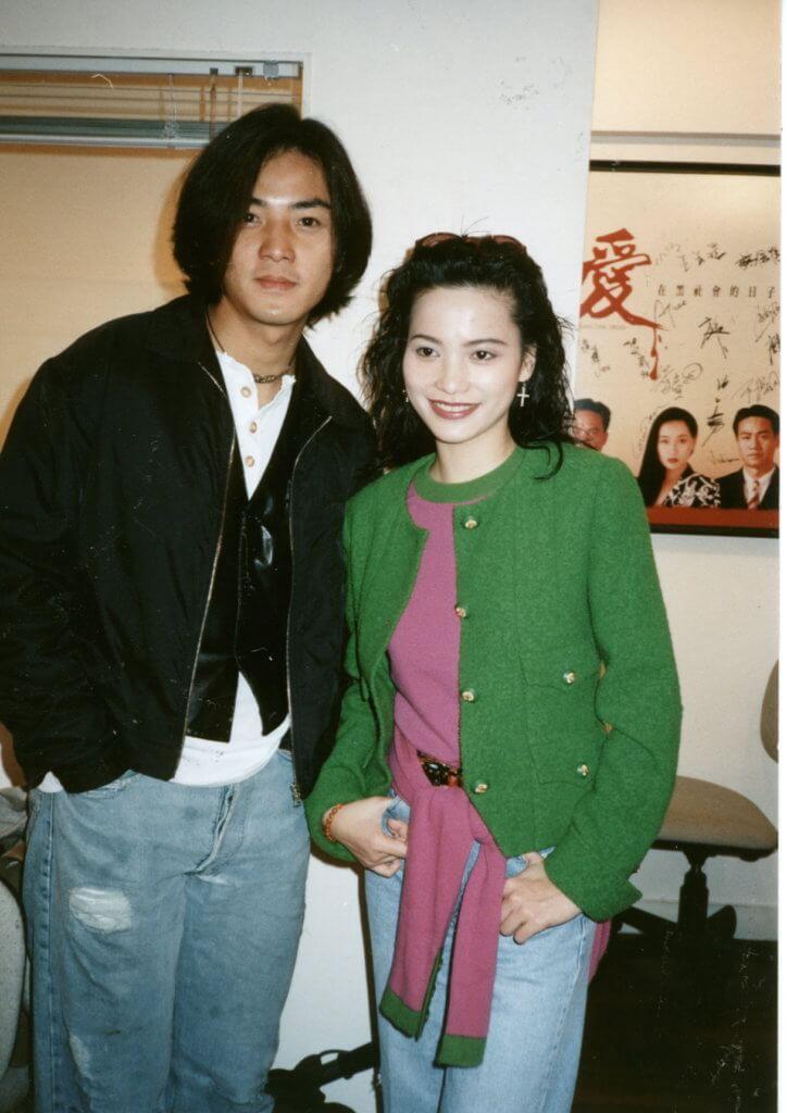樊亦敏與鄭伊健一起拍過廣告,之後在TVB亦有合作。