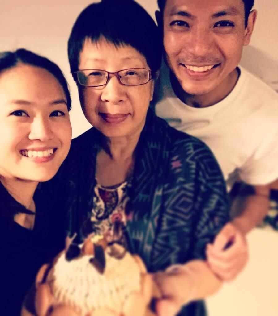 陸駿光說給他最大支持的兩人是母親和太太