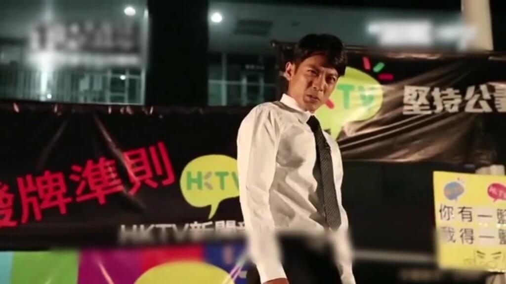 陸駿光的成名作,在HKTV政總集會上扮演日劇人物半澤直樹,諷刺政府黑箱作業。