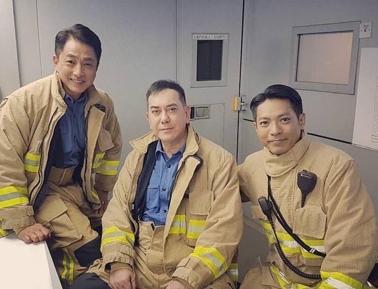 與黃秋生及張松枝合演《火速救兵》,表現獲讚賞。