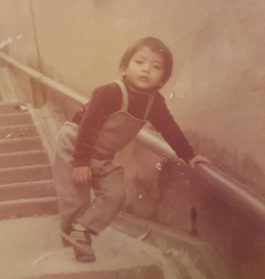 陸駿光說童年時在深水埗區長大