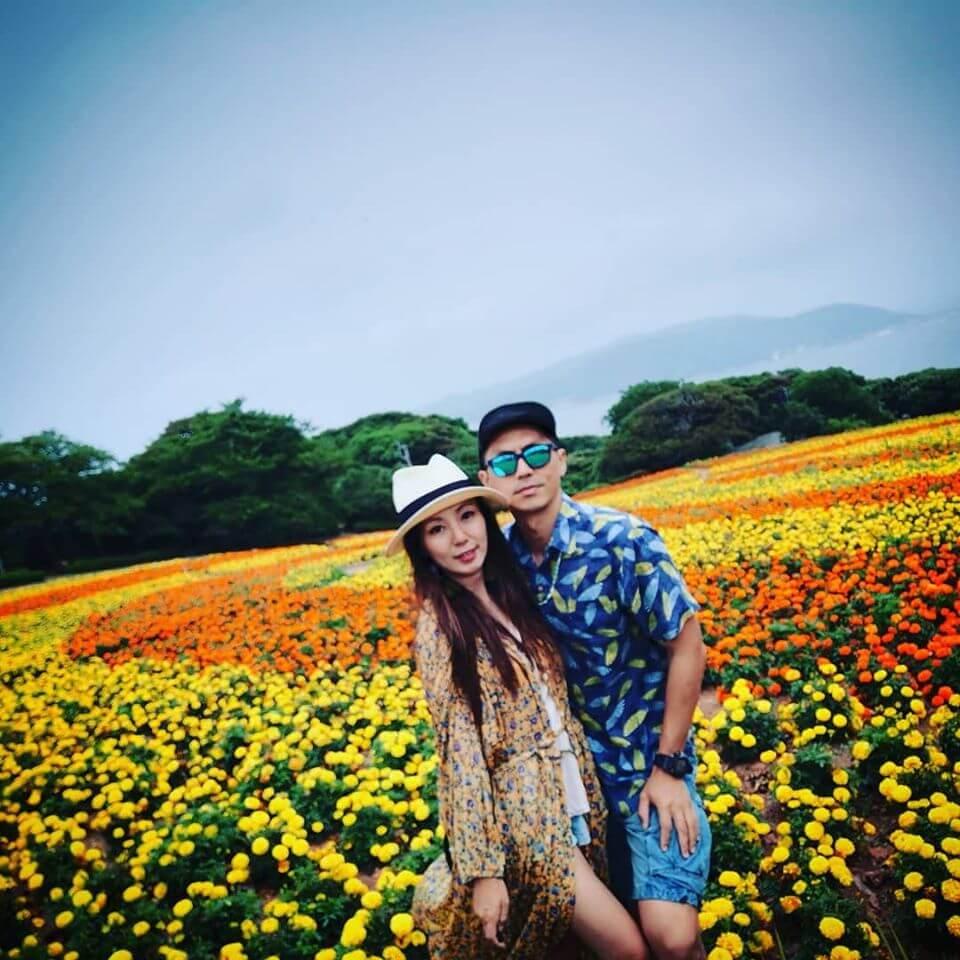 森美早前在IG貼出夫婦合照,網民都驚嘆森美太太漂亮。
