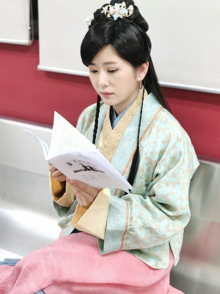 剛拍完《一笑渡凡間》,角色是做陳秀珠的年輕版。