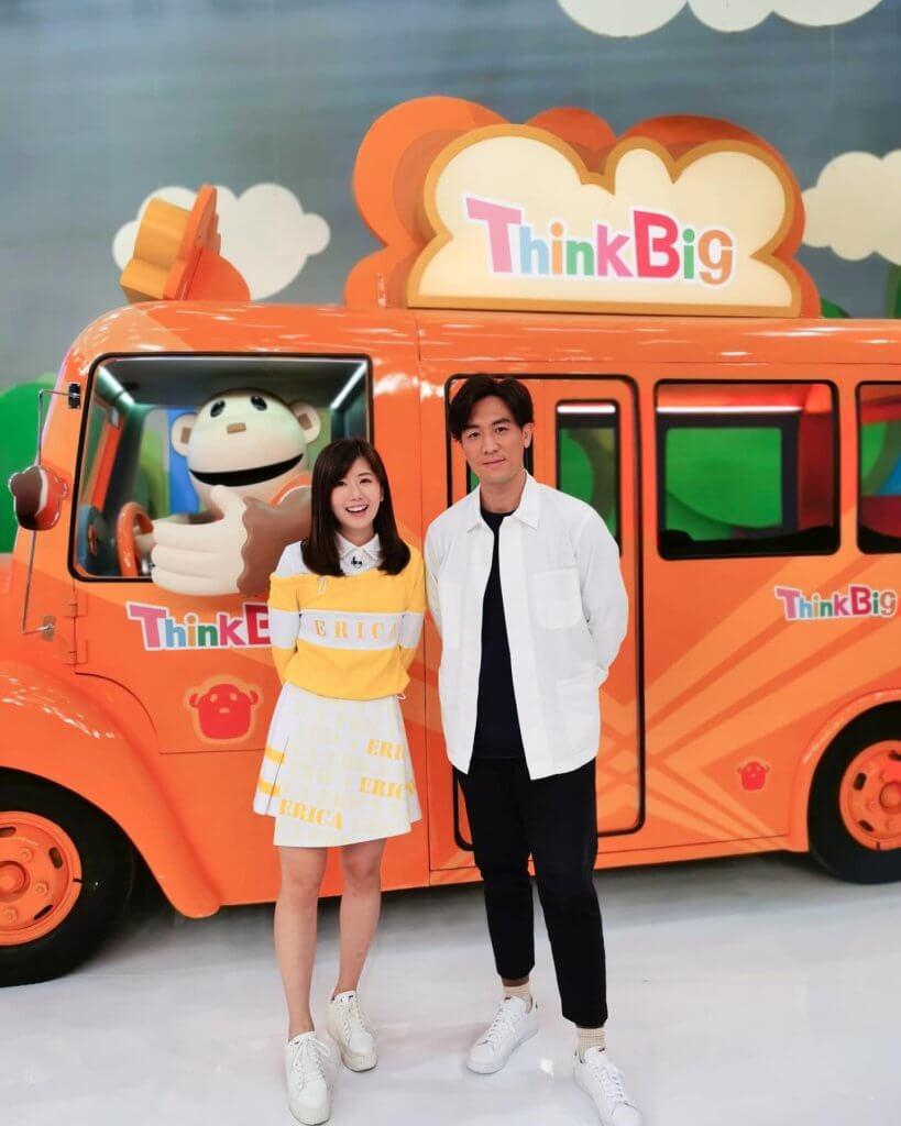 .今年四月加入《Think Big》主持行列,嘉慧很開心說可以藉節目訓練自己的口才。