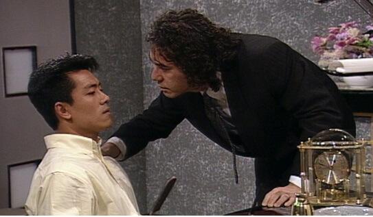 九一年,他與黃秋生拍劇集《人海驕陽》,當時壓力很大。