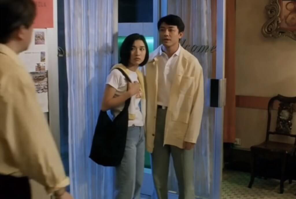 九六年的電影《伊波拉病毒》與陳妙瑛有不少對手戲。