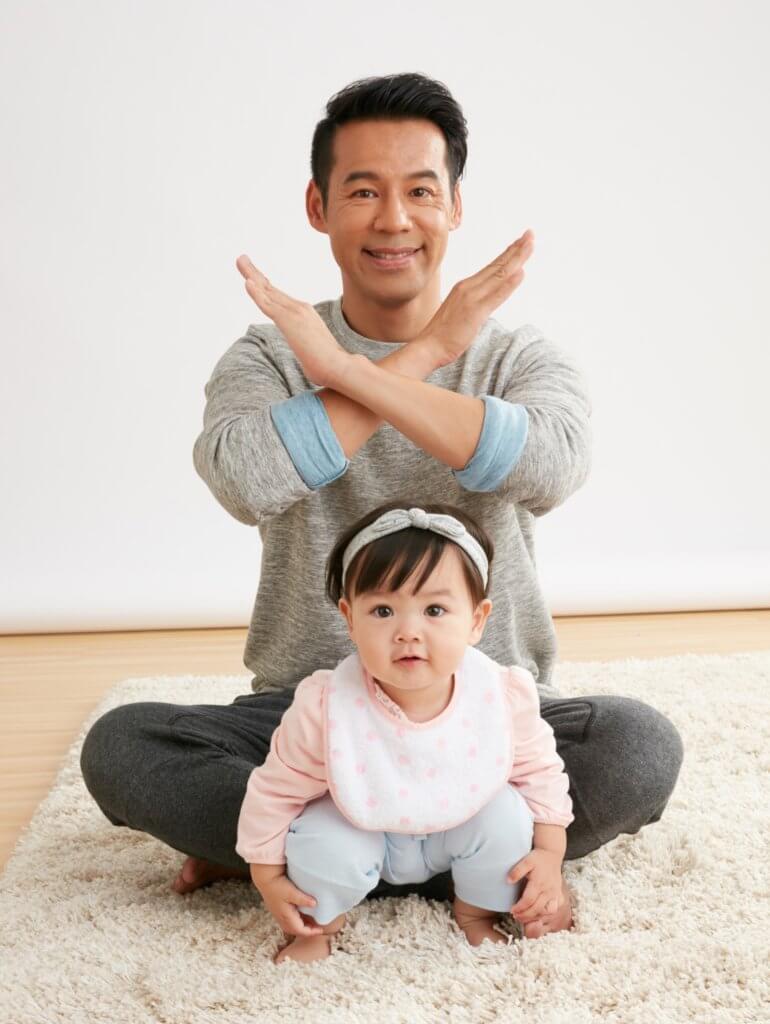 包包一歲多時,在《愛‧回家》飾演過徐榮孫女馬家好,觀眾至今仍然記得。