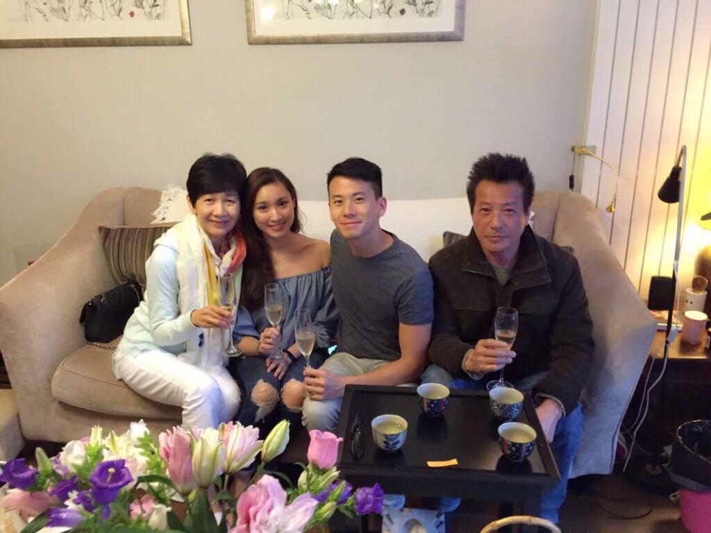 石修與太太相守半世紀,而兒子陳宇琛跟太太林佑蔚亦相敬如賓。