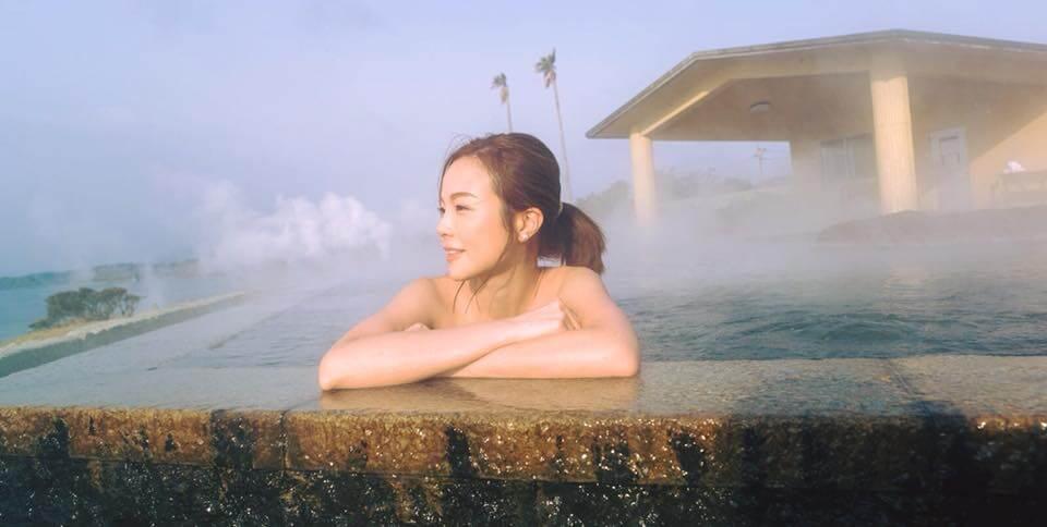 麗珊在香港開電視主持過不少節目,之前就曾到鹿兒島拍攝節目《喜出望外》。