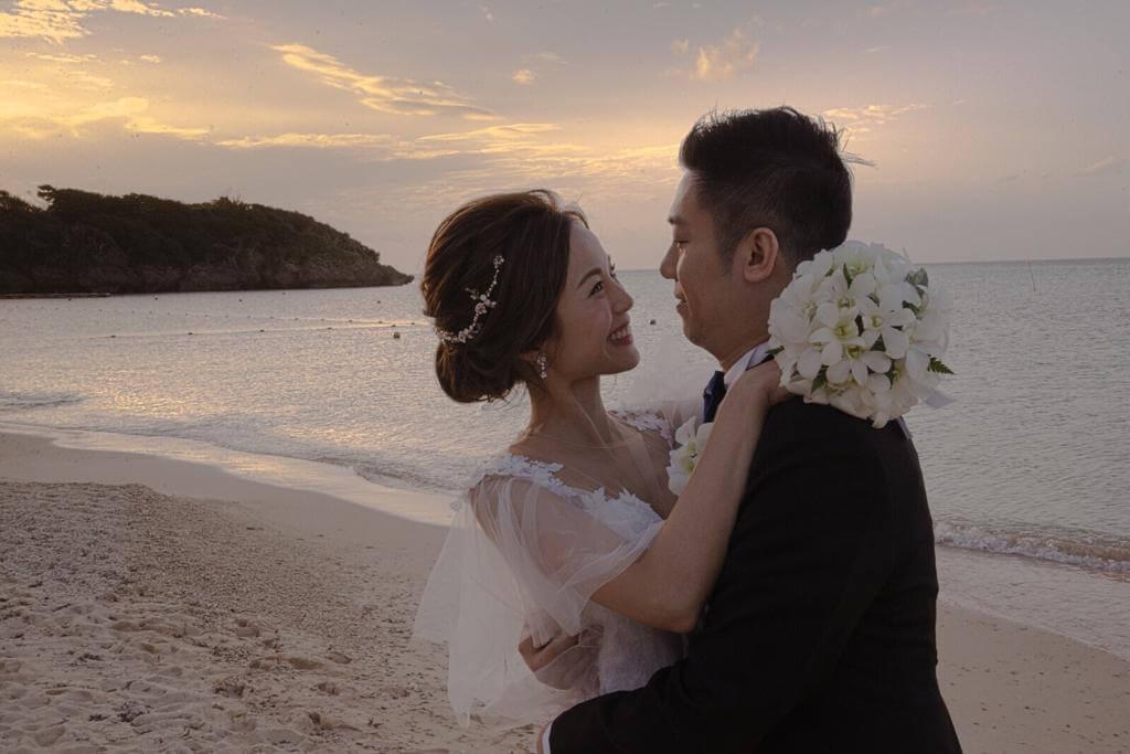 李麗珊前年與老公在沖繩舉行婚禮,夫妻二人非常期待女兒出世。
