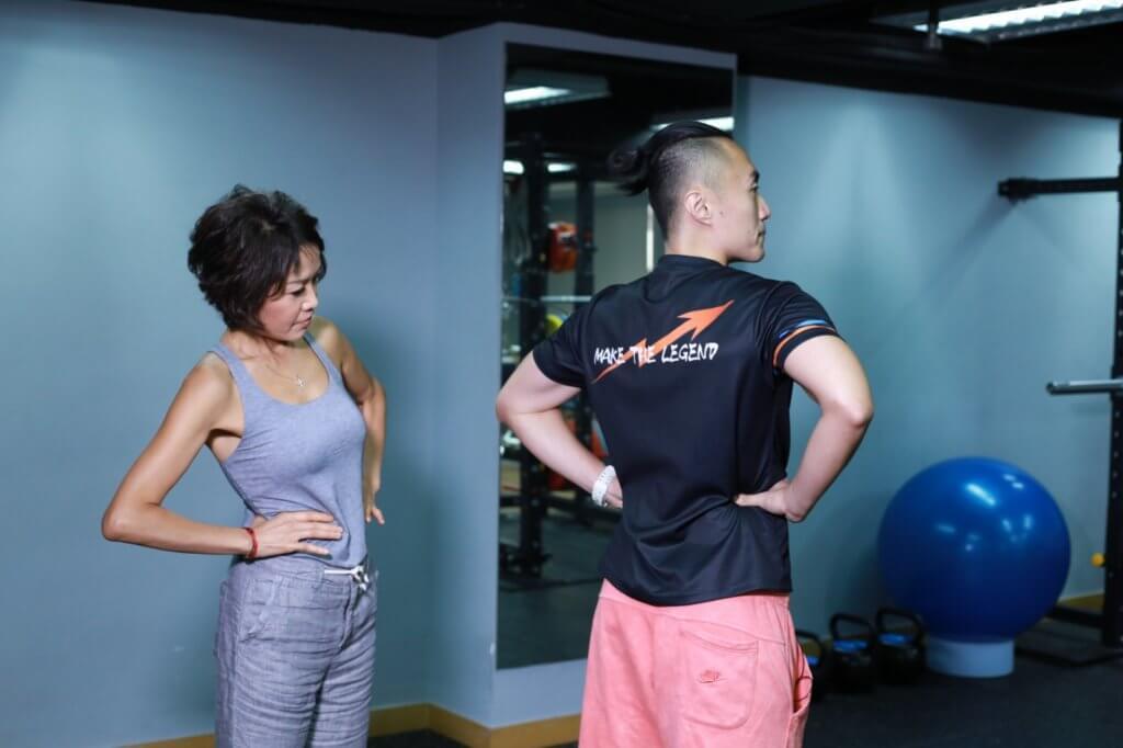 按摩腰方肌,對偶發性的腰痛很有效。