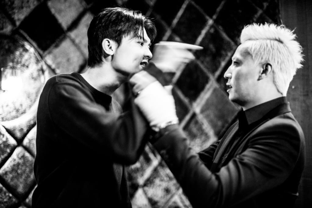 謝高晉在網劇《反黑》中飾演張建聲手下