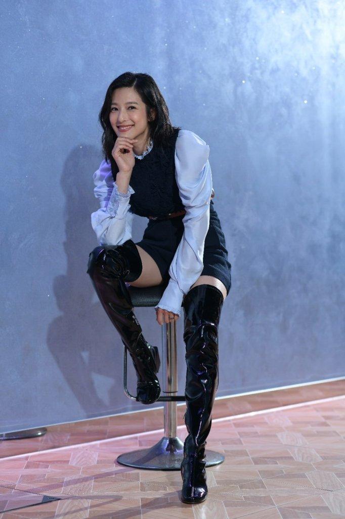 賴雅妍說做人應活在當下,所以她最煩惱是想下一餐食乜呢?